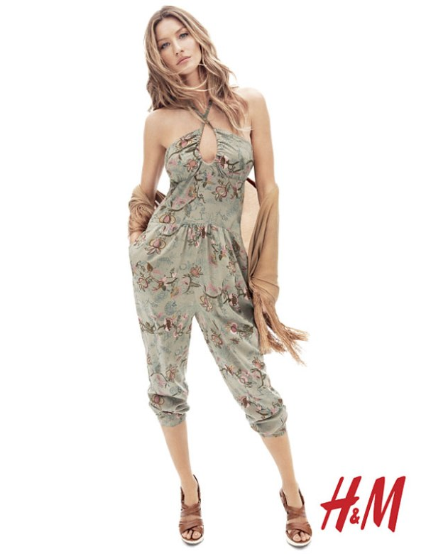 Gisele Bundchen for H&M Spring 2011 Campaign by Daniel Jackson