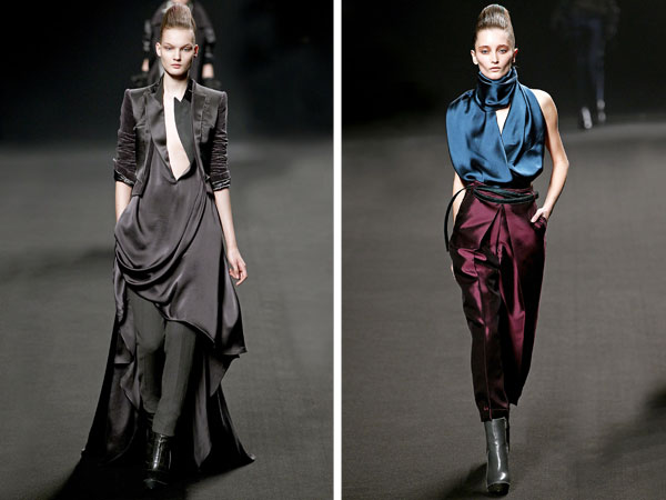 Haider Ackermann Fall 2011 | Paris Fashion Week
