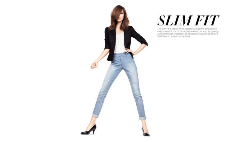 Raquel Zimmermann & Freja Beha Erichsen for H&M Pants Collection Campaign