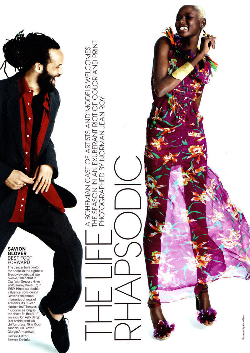 The Life Rhapsodic by Norman Jean Roy for Vogue US March 2011