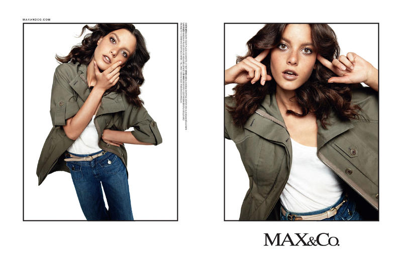 Tati Cotliar for MAX&Co. Spring 2011 Campaign by Daniel Jackson