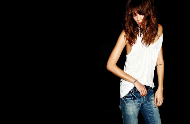 Freja Beha Erichsen for Azul by Moussy Spring 2011 Campaign by Miko Lim