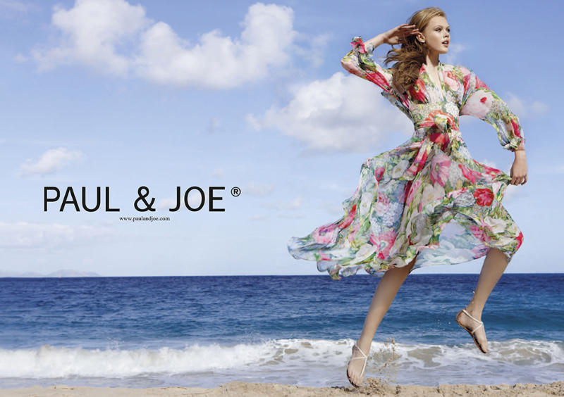 Frida Gustavsson for Paul & Joe Spring 2011 Campaign by Patrick Demarchelier