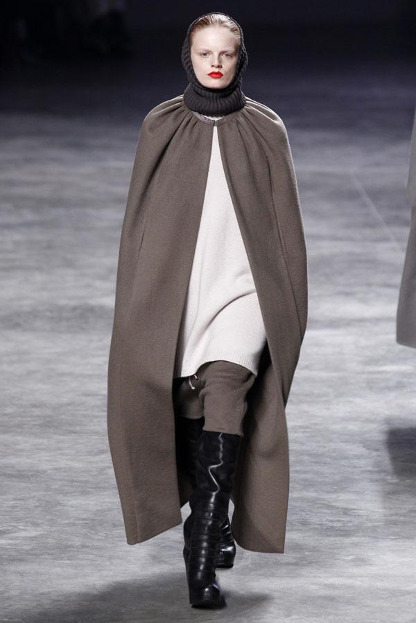 Rick Owens Fall 2011 | Paris Fashion Week