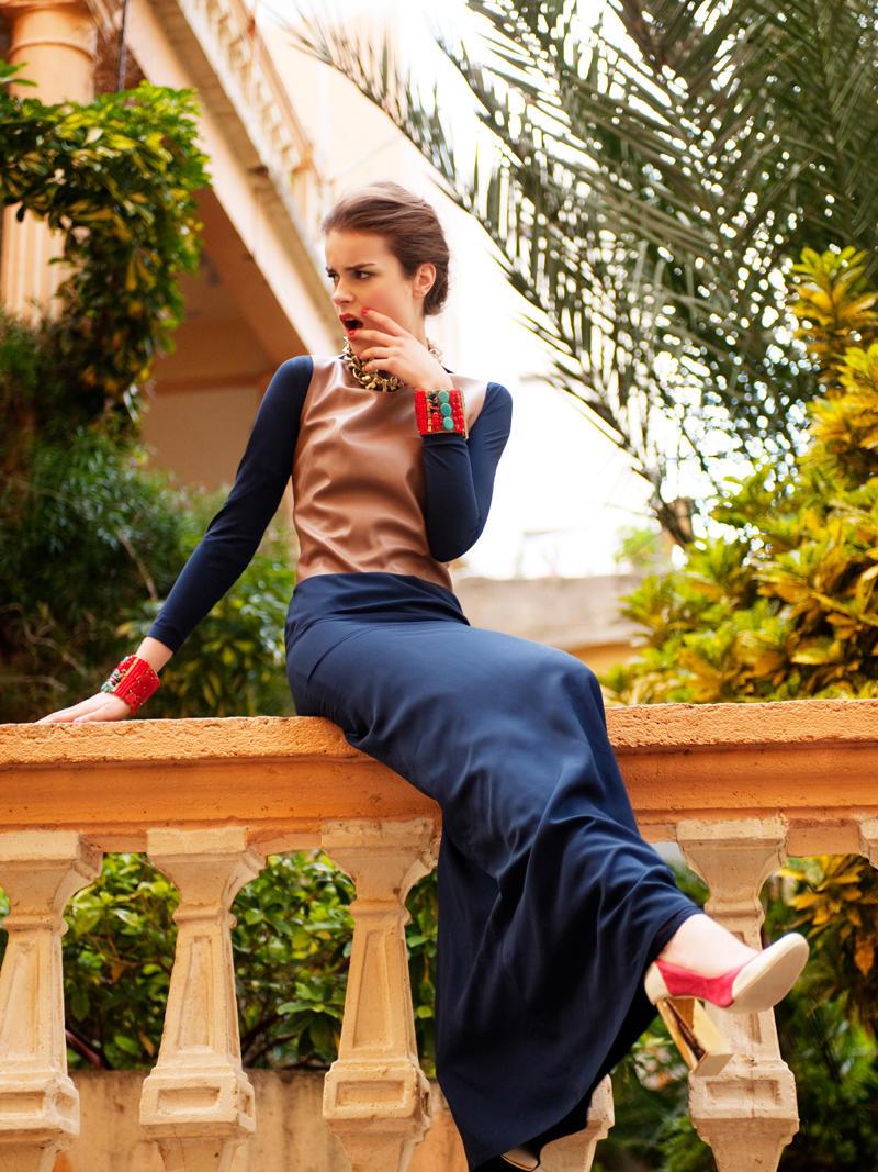 Sandra by Tamer Yilmaz for Elle Turkey March 2011