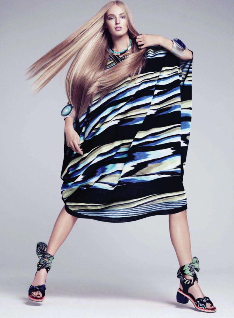 Ymre Stiekema by Paola Kudacki for Harper's Bazaar US March 2011