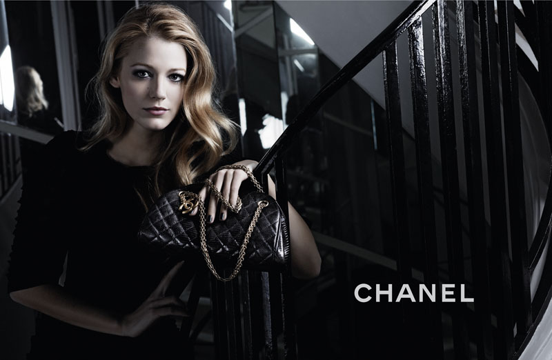 Chanel Mademoiselle Campaign | Blake Lively by Karl Lagerfeld