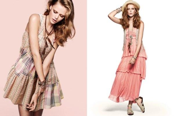 H&M Spring 2011 Campaign | Frida Gustavsson by Asa Tallgard