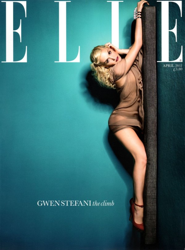 Elle UK April 2011 Cover | Gwen Stefani by Matthias Vriens-McGrath