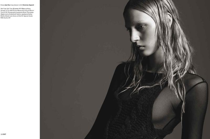 Julia Nobis by Michael Schwartz for Exit