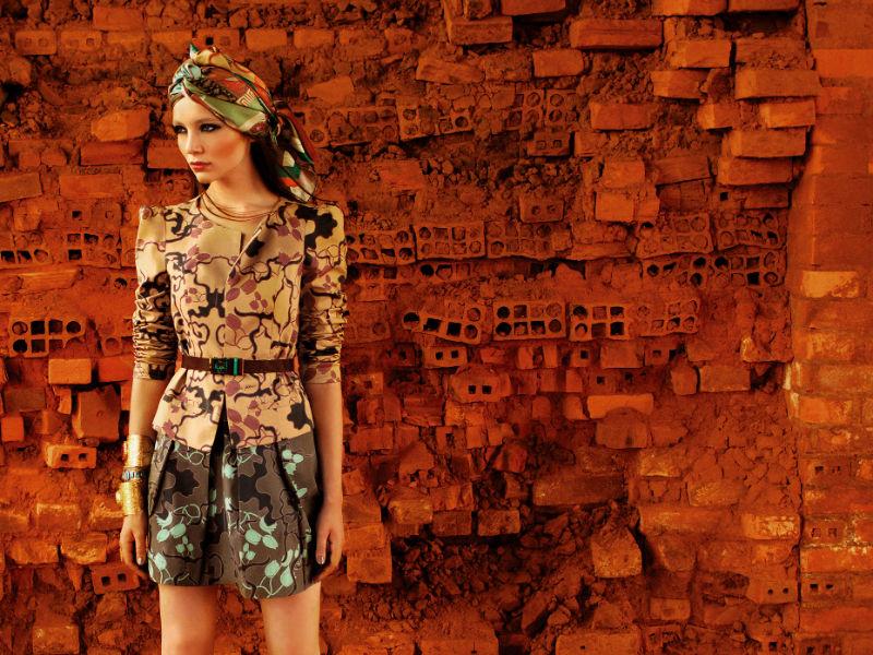Nana Kokaev Fall 2011 Campaign | Sarah Barros by Gustavo Marx
