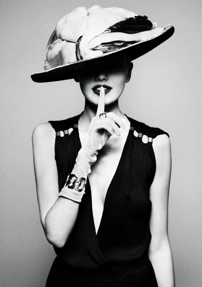 Alina Baikova by Marcus Ohlsson for NK Future Classics Campaign