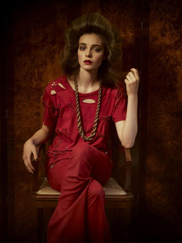 Nimue Smit by Serge Leblon for AnOther S/S 2011
