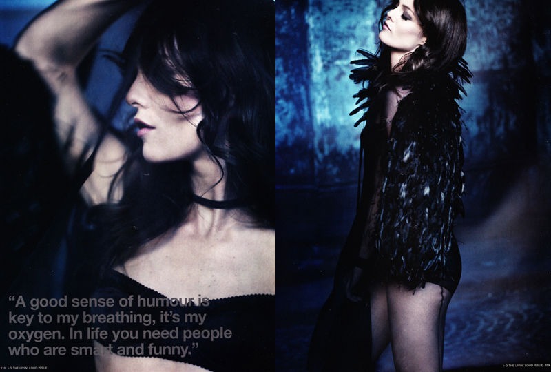 Vanessa Paradis in Chanel for i-D Pre-Spring 2011 by Paolo Roversi