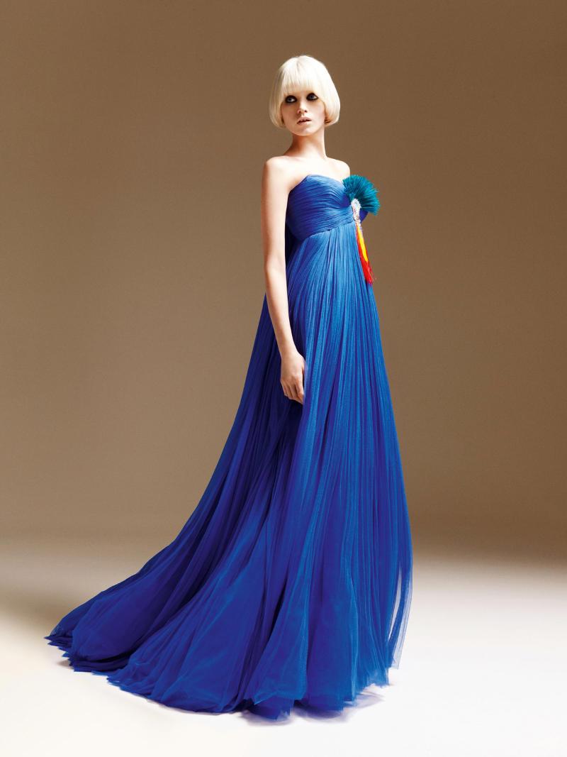 Atelier Versace Spring 2011: Abbey Lee Kershaw