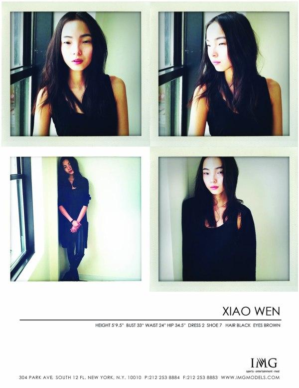 Casting Call | Xiao Wen