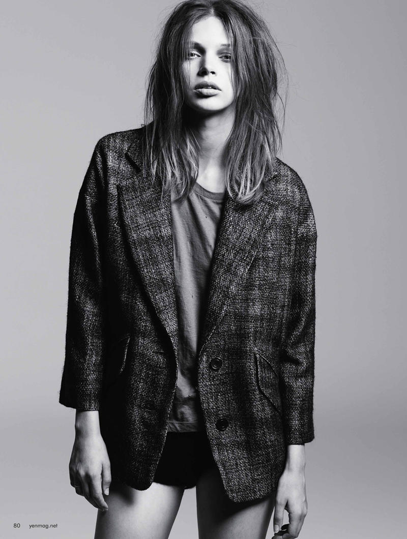 Lauren Rippingham by Daniel Nadel for Yen Magazine