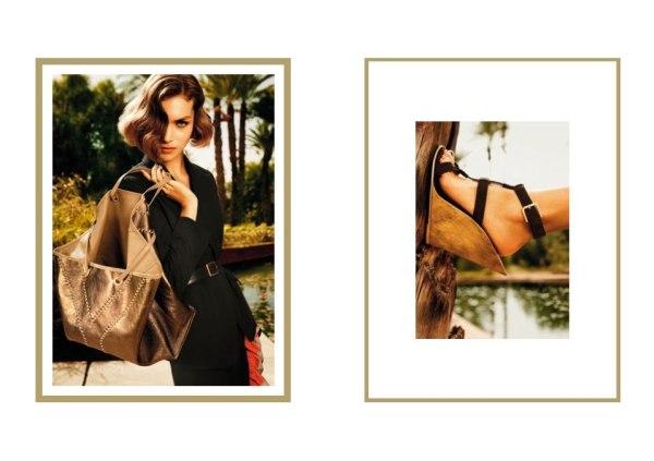 Yves Saint Laurent Spring 2011 Campaign | Arizona Muse by Inez & Vinoodh