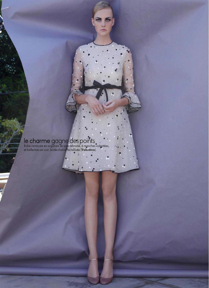 Caroline Trentini for Elle France March 2011 by Jean-Baptiste Mondino