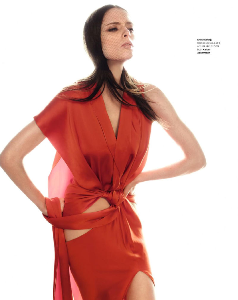 Coco Rocha for The Sunday Telegraph Spring 2011 by Alex Cayley