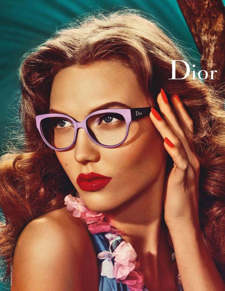 Dior Spring 2011 Campaign | Karlie Kloss by Steven Meisel