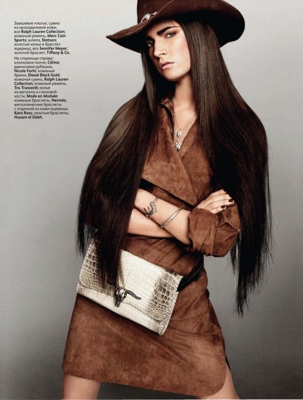 Jacquelyn Jablonski by Jason Kibbler for Vogue Russia March 2011