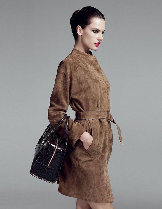 Alessandra Ambrosio for Loewe Made-to-Order Collection