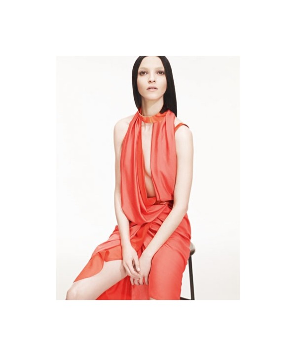 Mariacarla Boscono for Time Spring 2011 Campaign