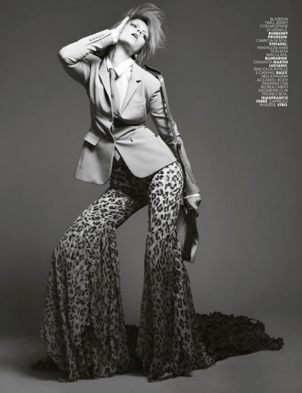 Marlena Szoka by Dancian for Marie Claire Italia