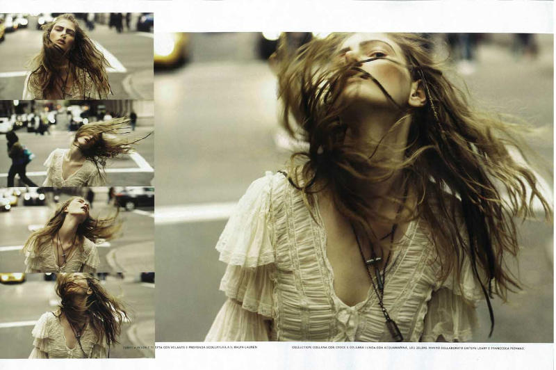 Ylonka Verheul by Jem Mitchell for Flair March 2011