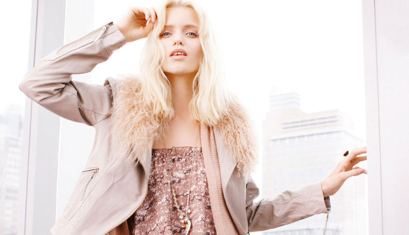 Abbey Lee Kershaw for Portmans Fall 2011 Campaign
