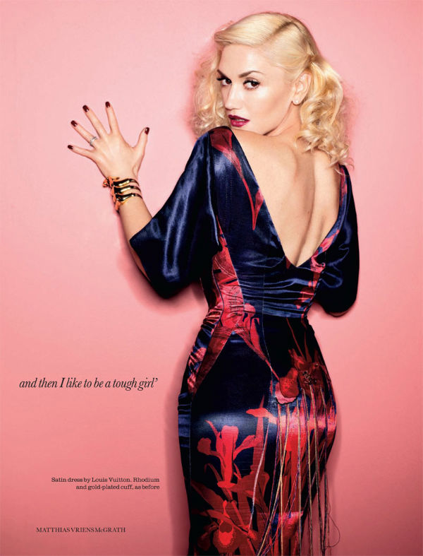 Gwen Stefani by Matthias Vriens-McGrath for Elle UK April 2011