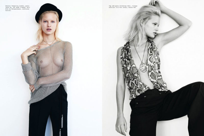 Hannah Holman by Eric Guillemain for Metal #23