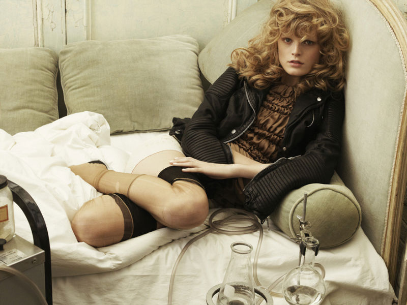 Hanne Gaby Odiele by Tesh for Vogue Korea