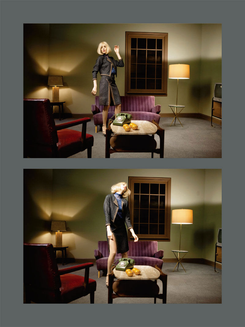 Hannelore Knuts by Yelena Yemchuk for Grey S/S 2011