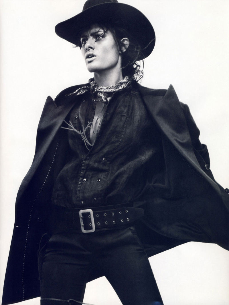 Isabeli Fontana by David Sims for Vogue Paris April 2011