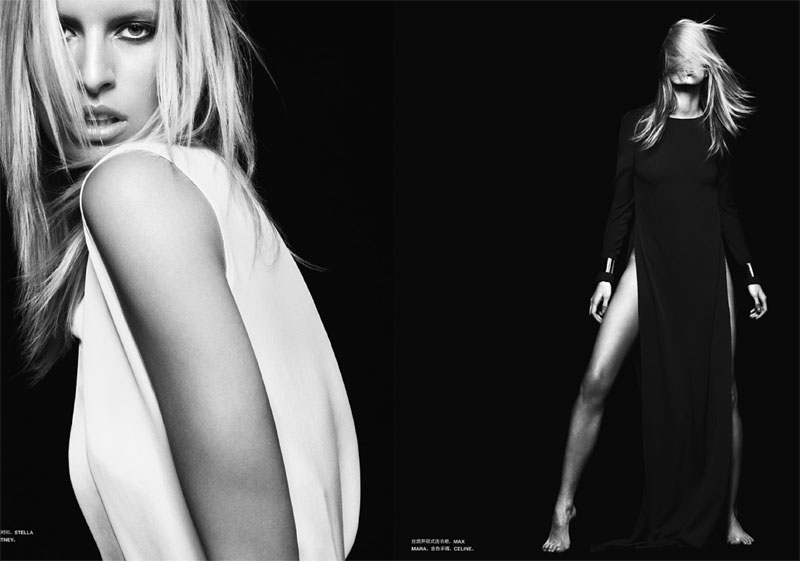 Karolina Kurkova by John-Paul Pietrus for Numéro China March 2011