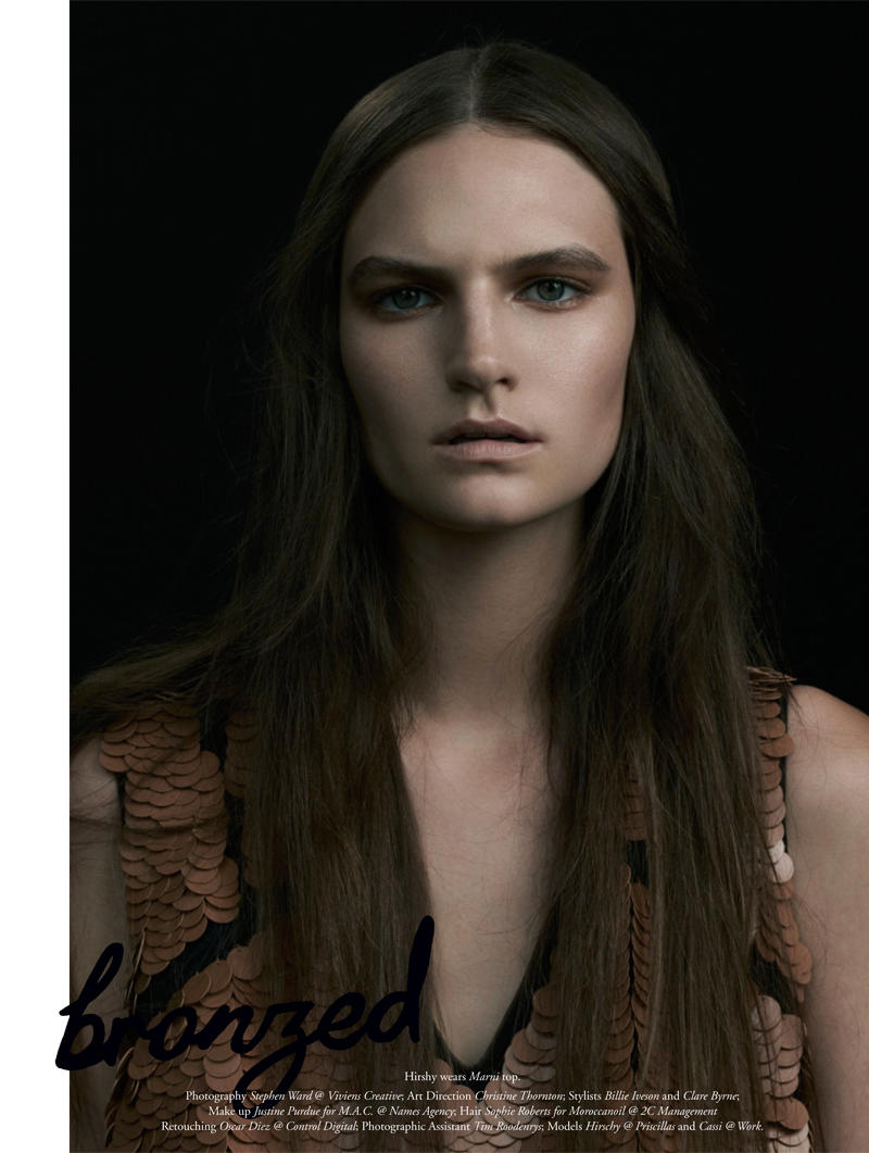 Cassi & Hirschy by Stephen Ward for Russh #39