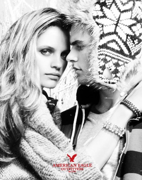 American Eagle Holiday 2010 Campaign | Ieva Laguna & Regina Feoktistova by Nagi Sakai
