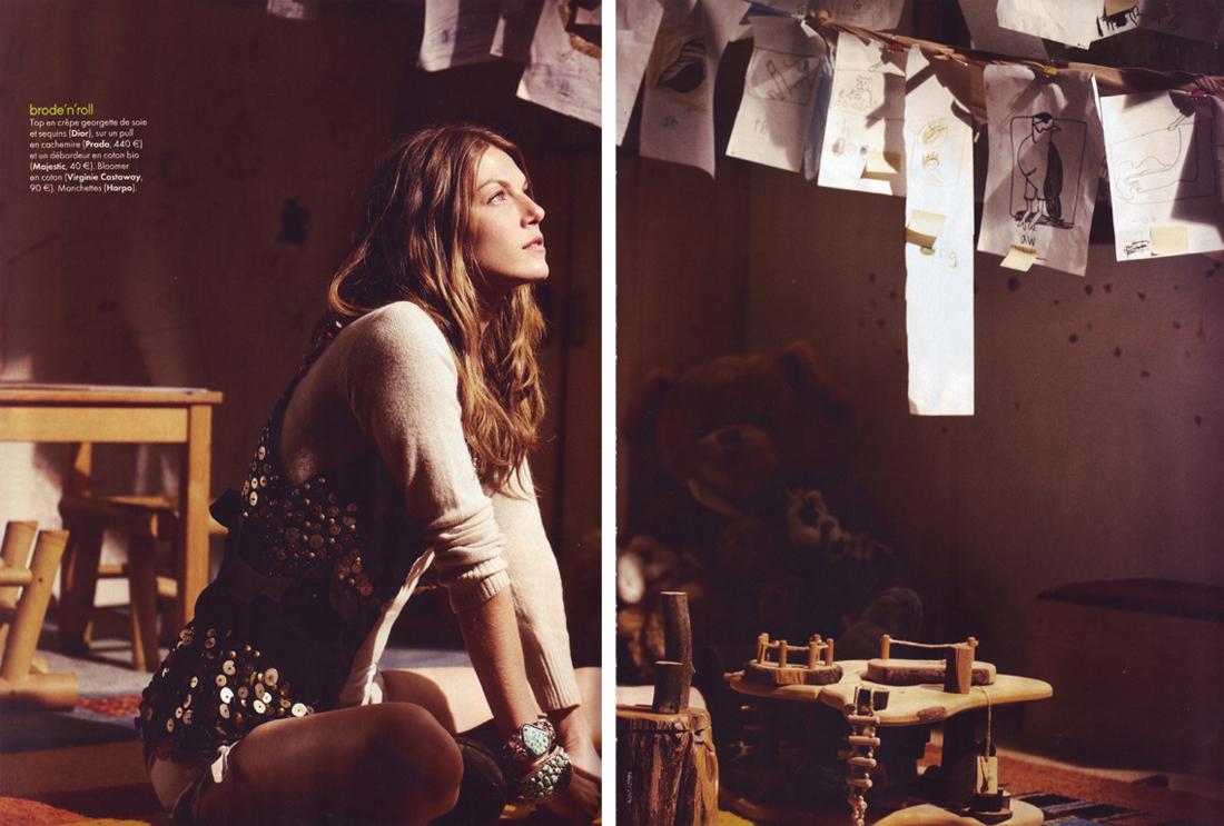 Angela in Elle France