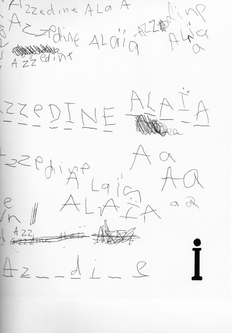 How Do You Spell Azzedine Alaia?