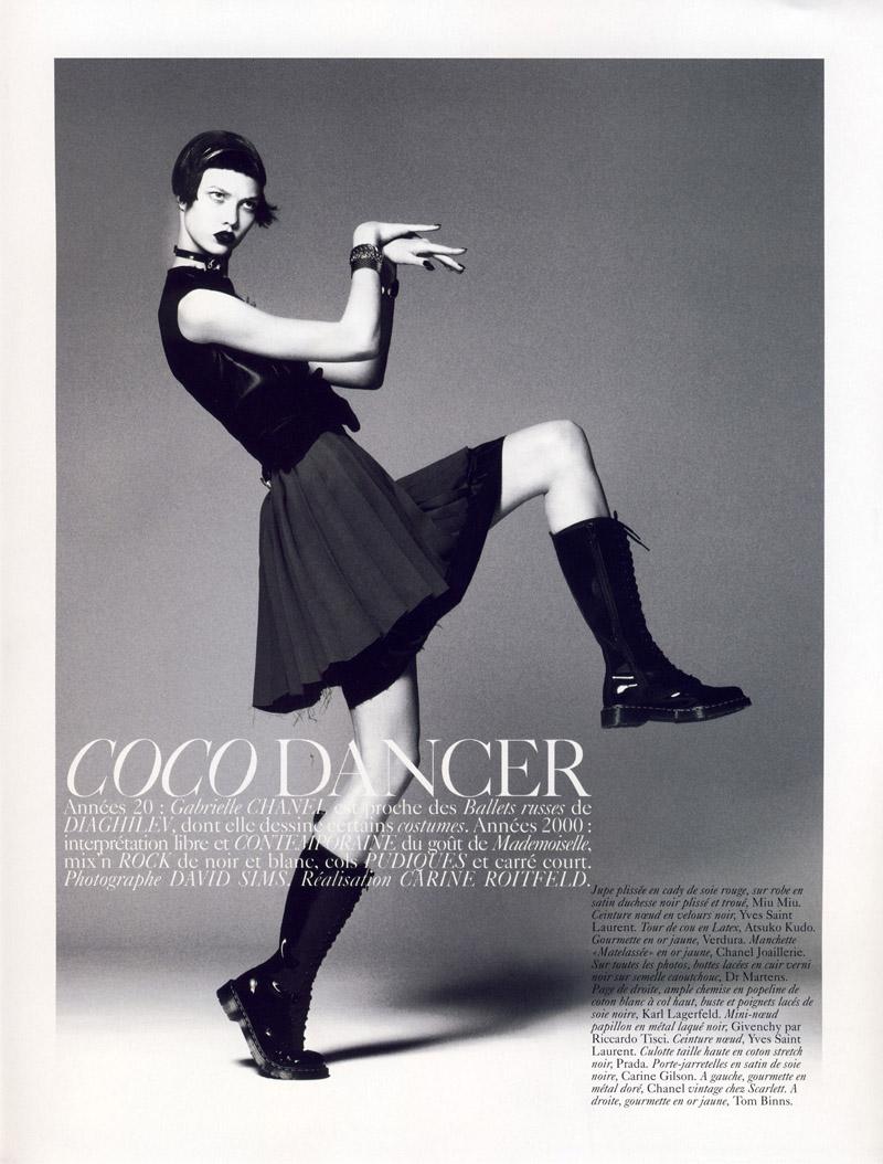 Karlie Kloss in 'Coco Dancer'