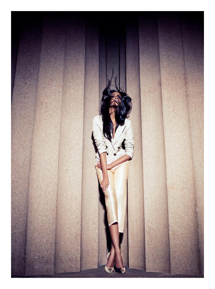 Thais Oliveira by Karine Basilio for Revista RG