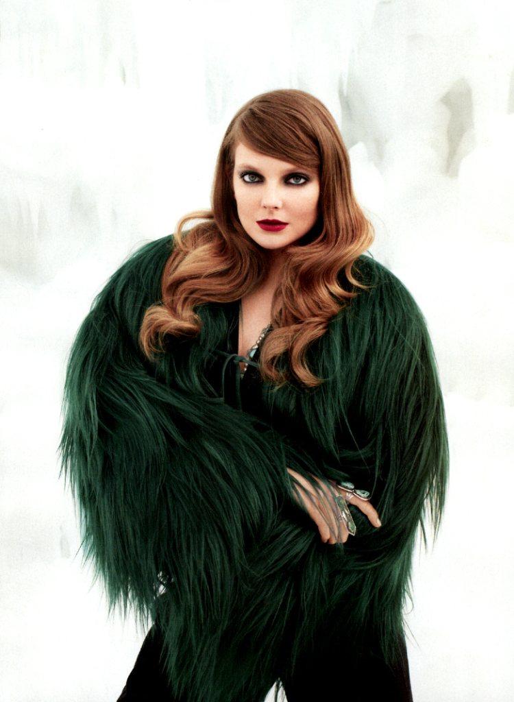 Eniko Mihalik by Terry Richardson for Harper's Bazaar US November 2011