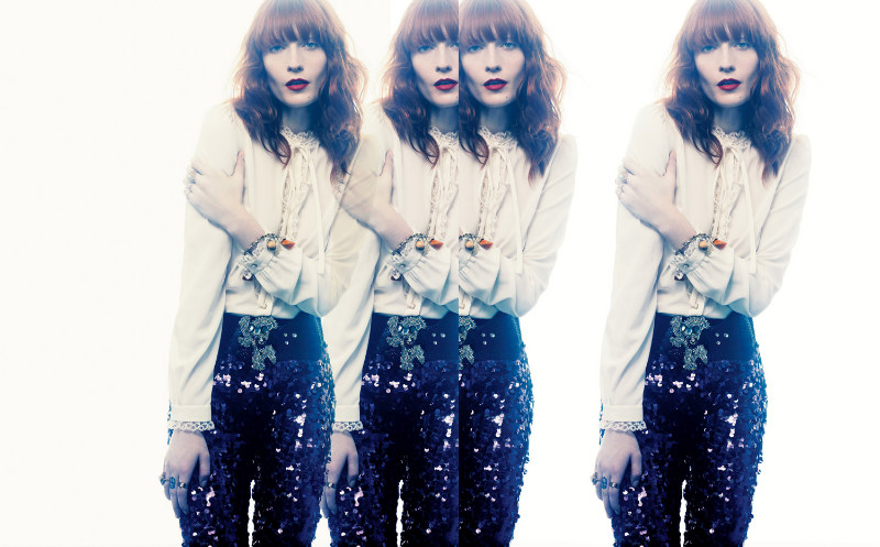Florence Welch  by Craig McDean for Interview October 2011