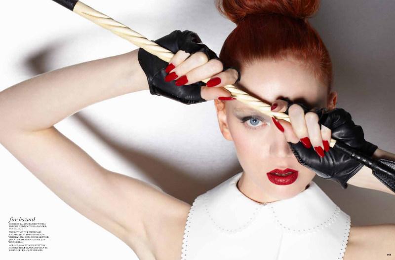 Judith Bedard by Gabor Jurina for Fashion Magazine