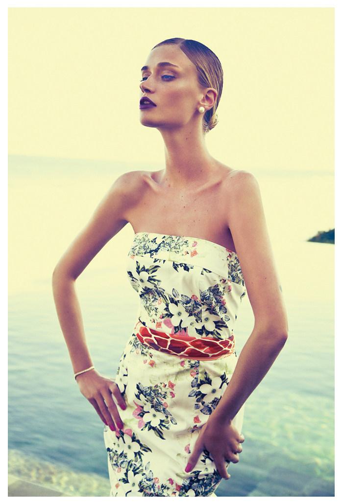Viviane Orth by Yossi Michaeli for Le Lis Blanc