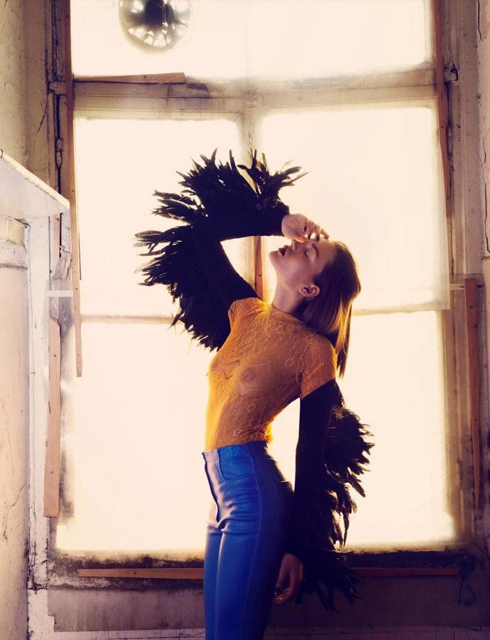 Polina Uagen by Emre Guven for Marie Claire Turkey November 2011
