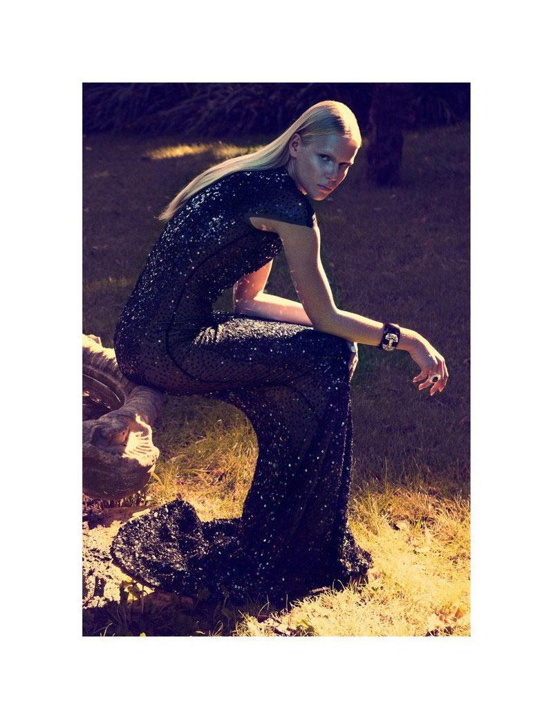 Tereza Jonakora by Emre Guven for Harper's Bazaar Turkey