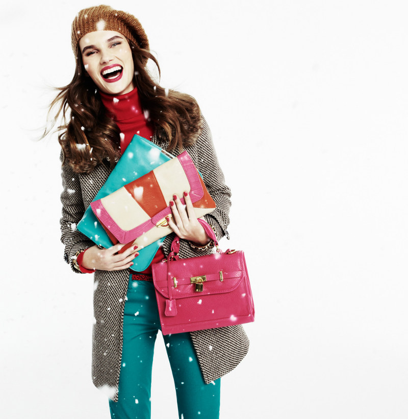 Giedre Dukauskaite by David Dunan for Blanco Christmas Campaign